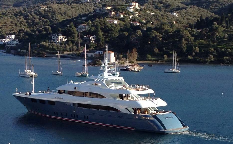 MEGA YACHT O'NEIRO - Greece - East Mediterranean Mega yachts
